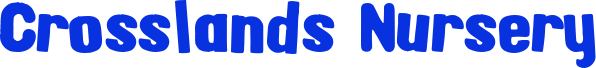 www.crosslandsnursery.co.uk Logo